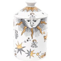 Fornasetti Astronomici Bianco Scented Candle - Gold - 300g