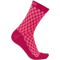 Castelli Women's Sfida 13 Socks - S-M - Brilliant Pink