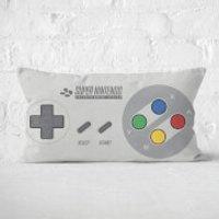 Nintendo SNES Cushion Rectangular Cushion - 30x50cm - Soft Touch - Computer Games Gifts