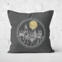 Hogwarts 40x40cm Square Cushion Square Cushion - 60x60cm - Soft Touch - Cushion Gifts