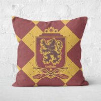 Gryffindor Square Cushion Square Cushion - 60x60cm - Soft Touch - Cushion Gifts