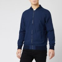 Polo Ralph Lauren Men's Oxford Garment Dyed Varsity Bomber Jacket - Navy - L