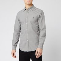 Polo Ralph Lauren Men's Garment Dyed Slim Fit Shirt - Grey - S