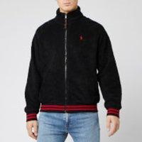 Polo Ralph Lauren Men's Full Zip Sherpa Jacket - Black - L