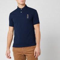 Polo Ralph Lauren Men's Custom Fit Bear Basic Mesh Polo Shirt - Navy - XL
