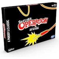 Hasbro Botched Operation Board Game