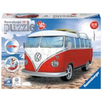 Ravensburger VW T1 Camper Van 3D Jigsaw Puzzle (162 Pieces) - Jigsaw Puzzle Gifts