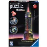 Empire State Building Night Edition 3D Jigsaw Puzzle (216 Pieces) - Jigsaw Puzzle Gifts