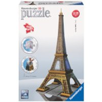Ravensburger Eiffel Tower Building 3D Jigsaw Puzzle (216 Pieces) - Jigsaw Puzzle Gifts