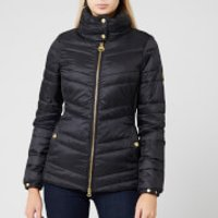 Barbour International Women's Rally Quilted Jacket - Black - UK 14