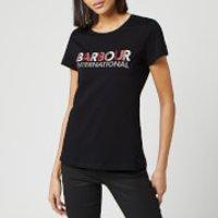 Barbour International Women's Hattrick Short Sleeve T-Shirt - Black - UK 14