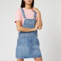 Tommy Jeans Women's Classic Dungaree Dress - Mid Blue Rig - XS