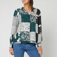 BOSS Hugo Boss Women's Crai Shirt - Green - UK 6