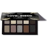 NYX Professional Makeup Love Lust & Disco Miss Robot Eyeshadow Palette