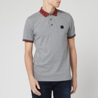 BOSS Men's Premixt Polo Shirt - Grey - S