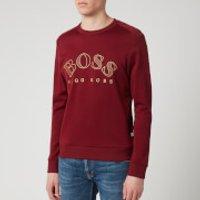 BOSS Hugo Boss Men's Salbo Sweatshirt - Red - XL