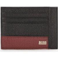 BOSS Hugo Boss Men's Signature Card Holder - Black