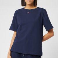 Tommy Hilfiger Women's BN Half Sleeve T-Shirt - Navy Blazer - S