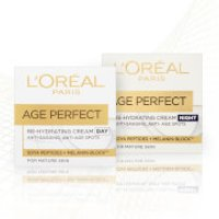 L'Oreal Paris Age Perfect Skincare Set Regime for Mature Skin (Worth PS24.98)