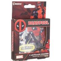 Posavasos Deadpool Lenticulares (Set de 4)