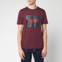 HUGO Men's Dolive 201 T-Shirt - Dark Red - XL