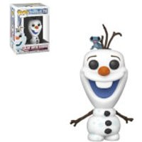 Disney Frozen 2 Olaf with Fire Salamander Pop! Vinyl Figure