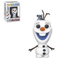 Disney Die Eiskönigin II - Olaf mit Bruni Pop! Vinyl Figur