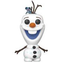 Disney Frozen 2 Olaf with Fire Salamander Pop! Vinyl Figure