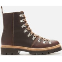 Grenson Men's Brady Leather Hiking Style Boots - Brown - UK 7