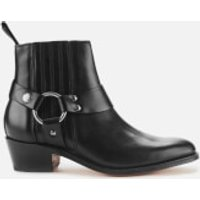 Grenson Women's Marley Leather Heeled Ankle Boots - Black - UK 3
