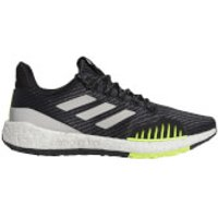 adidas Pulseboost HD PRCT Running Shoes - Black/Grey/Yellow - US 10.5/UK 10