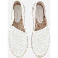 Sophia Webster Women's Butterfly Espadrilles - White - 4