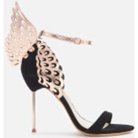Sophia Webster Women's Evangeline Barely There Heeled Sandals - Black/Rose Gold - 7