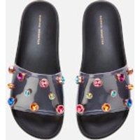 Sophia Webster Women's Dina Slide Sandals - Black - 4
