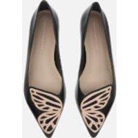 Sophia Webster Women's Butterfly Pointed Flats - Black/Rose Gold - 5