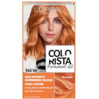 L'Oréal Paris Colorista Permanent Gel Hair Dye (Various Shades) - Copper