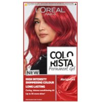 L'Oréal Paris Colorista Permanent Gel Hair Dye (Various Shades) - Bright Red