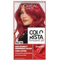 L'Oreal Paris Colorista Permanent Gel Hair Dye (Various Shades) - Bright Red