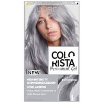 L'Oréal Paris Colorista Permanent Gel Hair Dye (Various Shades) - Silver Grey
