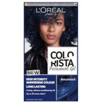 L'Oreal Paris Colorista Permanent Gel Hair Dye (Various Shades) - Blue Black