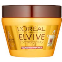 L'Oreal Paris Elvive Extraordinary Oil Hair Mask Pot for Dry Hair 300ml