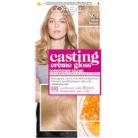 L'Oreal Paris Casting Creme Gloss Semi-Permanent Hair Dye (Various Shades) - 801 Satin Blonde