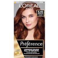 L'Oreal Paris Preference 6.45 Brooklyn Copper Auburn Permanent Hair Dye