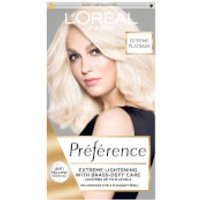 L'Oreal Paris Preference Infinia Hair Dye (Various Shades) - 8L Extreme Platinum