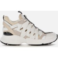 MICHAEL MICHAEL KORS Women's Hero Chunky Running Style Trainers - Ecru Multi - UK 4/US 7