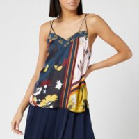 Ted Baker Women's Iyris Savanna Printed Cami Top - Navy - UK 14