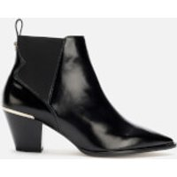 Ted Baker Women's Rilanni Leather Western Style Ankle Boots - Black - UK 3