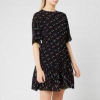 See By Chloe Women's Jacquard Spot Dress - Black/Multi - EU 40/UK 12