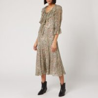 See By Chloe Women's Python Silk Crepon Dress - Multi - EU 36/UK 8