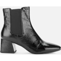 Vagabond Women's Alice Patent Leather Heeled Chelsea Boots - Black - UK 5